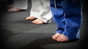 Karate: It's Good for the Sole