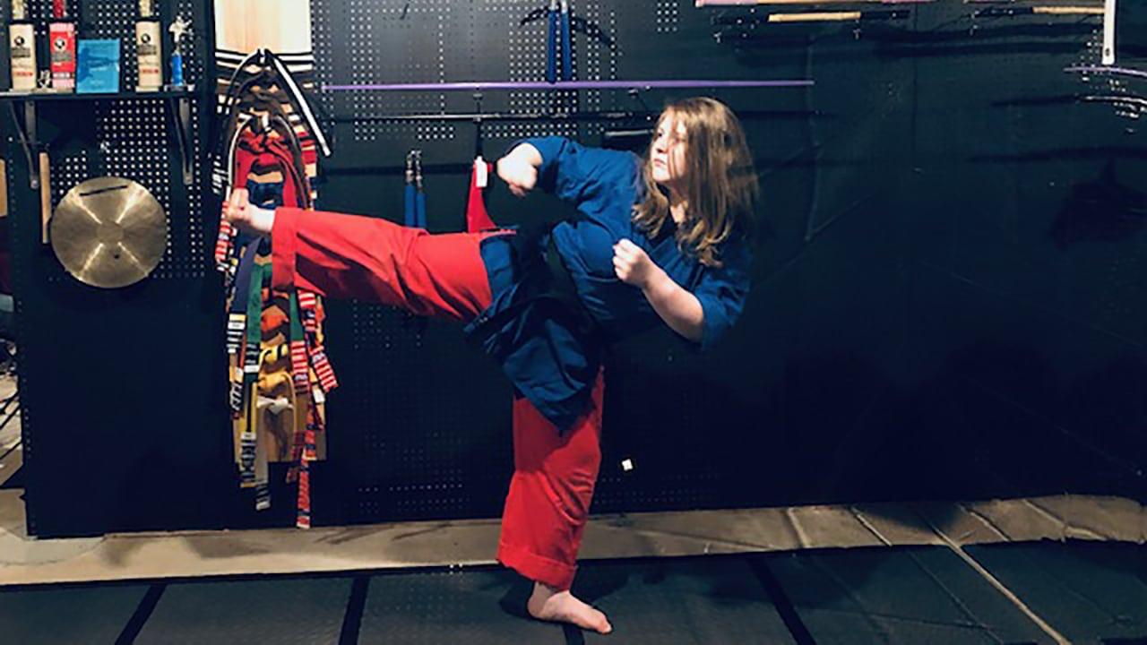 Earning a Black Belt: Junior Instructor Jadyn Roach