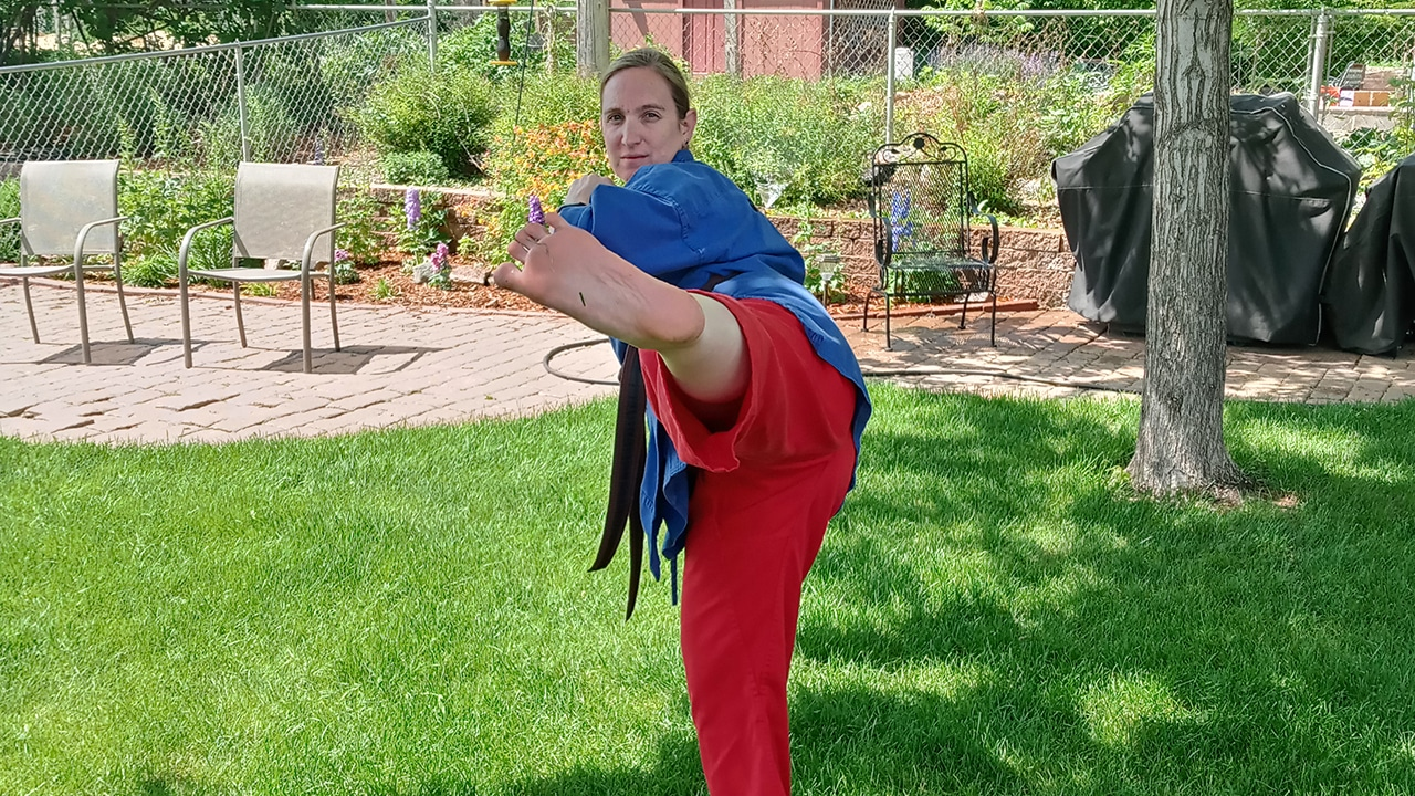 Leading by Example: Junior Instructor Ms. Rebecca Quillen